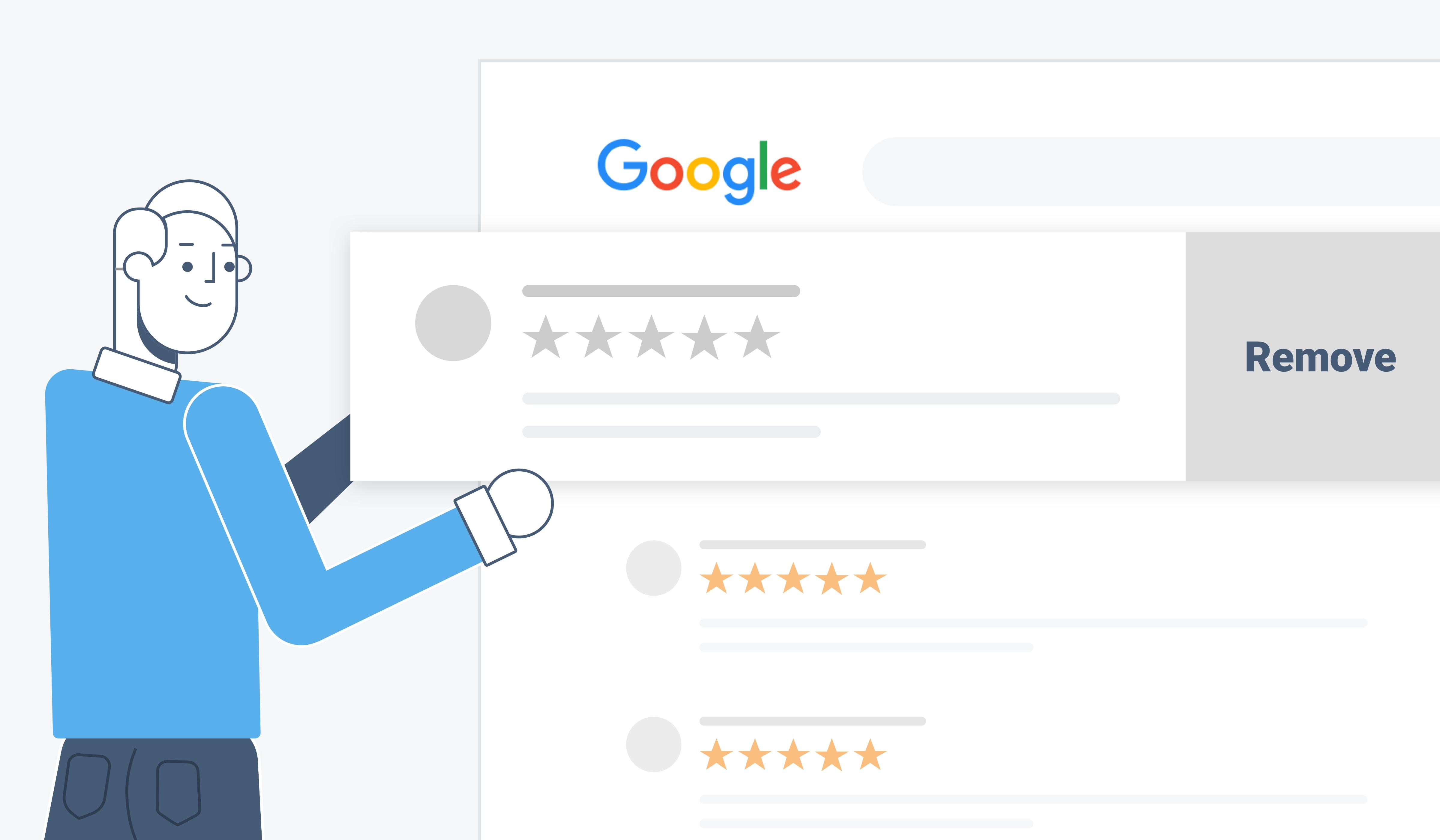 delete google listing